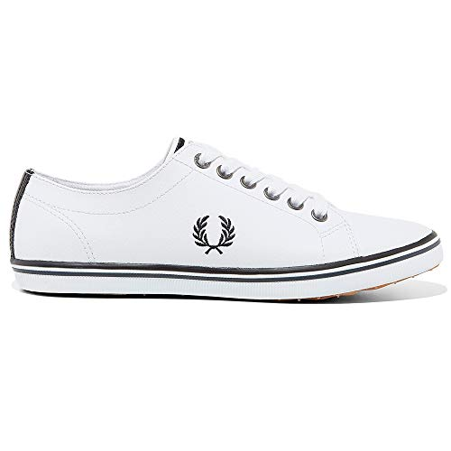 Deportivas Tenis Kingston Zapatillas Para Leather White Hombre Fred white Spencer Perry Baseline Kingston Underspin wn1qwx64a