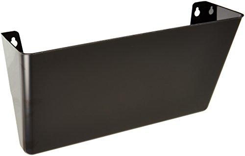 Deflecto Docupocket Stackable Wall Pocket, 13 x 4 x 7', Black (73204)