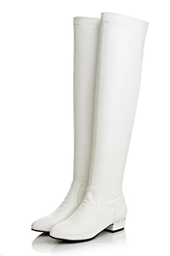 1TO9 - Botas Chukka mujer blanco