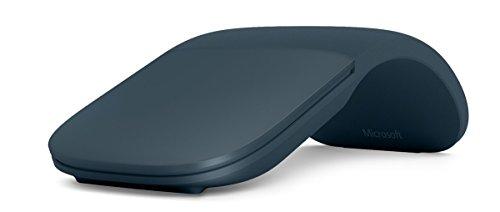 Microsoft Arc Wireless Mouse - Surface Arc Mouse - Cobalt Blue (Renewed)