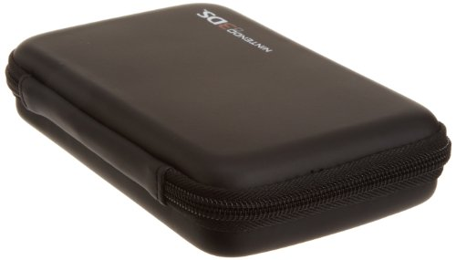 AmazonBasics  Carrying Case for Nintendo 3DS, DS Lite, DSi and DSi XL - Black (Officially Licensed by Nintendo)