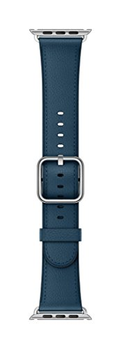 Apple 38mm Classic Buckle Smartwatch Replacement Band for Watch Series 1, Watch Series 2, Watch Series 3 - Cosmos - Cosmo Blue