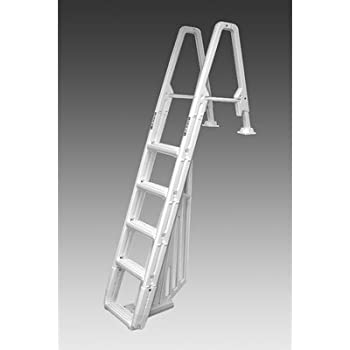 Amazon Com Evolution Inpool 5 Step Ladder With Barrier
