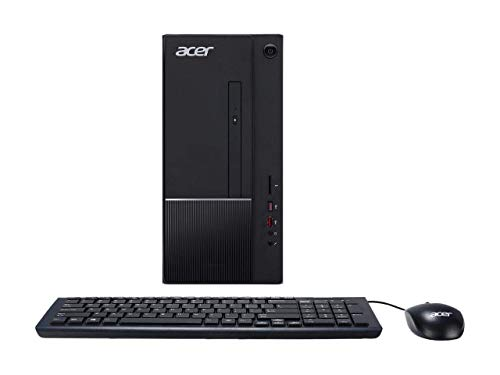 Acer Aspire TC-780 Desktop | Intel Core i5-7400 Quad-Core 3.0 GHz | 16GB DDR4 RAM | 256GB SSD Boot + 1TB HDD | DVD-RW | Included Keyboard & Mouse | WiFi | HDMI | Bluetooth | Card Reader | Windows 10