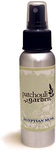 Patchouli Garden - Egyptian Musk Perfume Body Spray 2.5 Ounces
