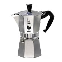 Bialetti Moka Express OPTIMAL PERFORMANCE Espresso Maker (1.4 L) – RICH, AUTHENTIC Italian Coffee - SIMPLE TO USE - 8 Sided Design -Essential & Fashionable