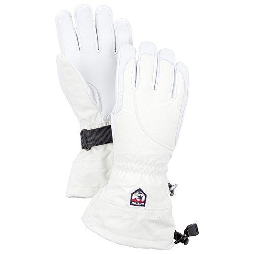 Hestra Gloves 30610 Women's Heli Glove, Ivory/Offwhite - 8 by Hestra