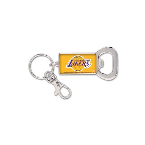 NBA 58559081 Los Angeles Lakers Key Ring Bottle Opener by WinCraft