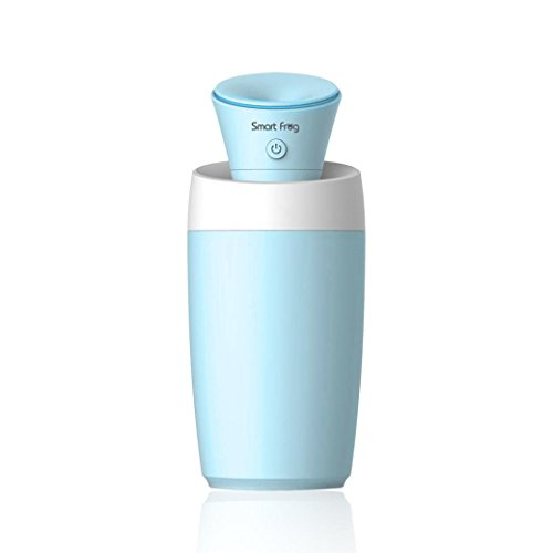 Misaky Mini car office outdoor USB portable beauty micro-key control of a humidifier (Blue) (E Cigarette Pot)