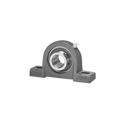Big Bearing UCPX07-20 Medium Duty Pillow Block Bearing, 1-1/4'' Shaft Size, 7.99'' Length, 2.24'' Width, 4.13'' Height, Cast Iron by Big Bearing