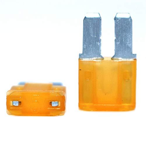 ARDUTE Micro2 ATR Kfz-Sicherungen Sortiert 10 St/ück Lumision 5A 7.5A 10A 15A 20A Set Pak Auto Insurance Tablets