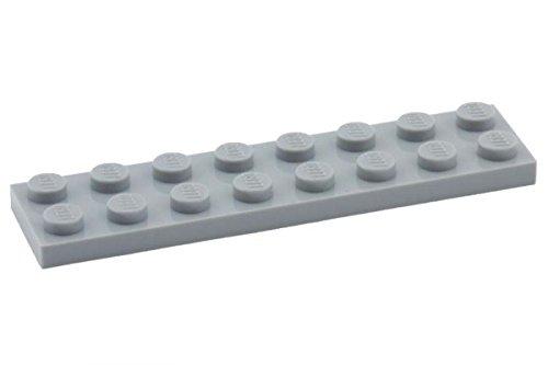 Lego Parts: Plate 2 x 8 (LBGray)