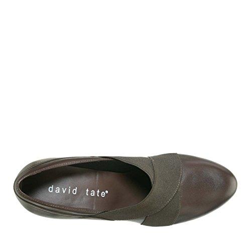 David Tate Dames Karen Mode Pumps Bruin Nappa Voor Kinderen