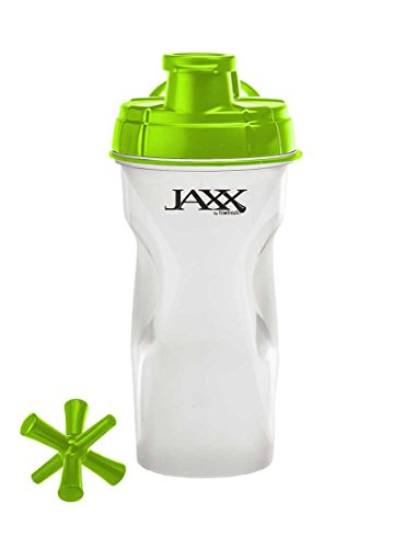 Fit and Fresh Jaxx Shaker Bottle, 28-Ounce, Green