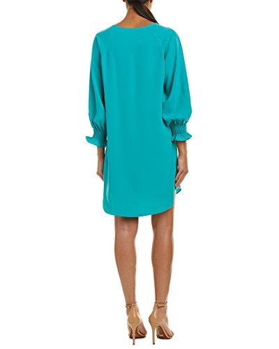 Shift Three Ruched Nine Quarter Atlantis West Sleeve Dress Women's ZAxzSa