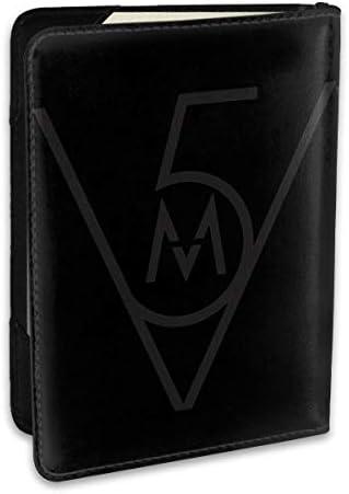マルーン5 Maroon 5 パスポートケース メンズ レディース パスポートカバー パスポートバッグ ポーチ 6.5インチ PUレザー スキミング防止 安全な海外旅行用 収納ポケット 名刺 クレジットカード 航空券