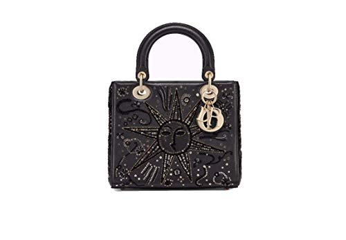 DR. DIOR BAG IN EMBROIDERED CALFSKIN