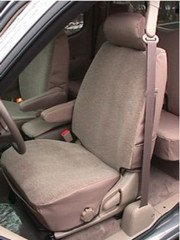 Durafit Seat Covers T785-C3 2000-2004 Tundra Access or Double Cab Front Bucket Seats with Manual Controls, Tan Waterproof Endura.