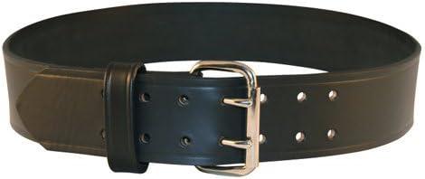 "Size 40 Boston Leather 6503-1-40 Men/'s Black Plain Explorer Duty Belt 2.25/"""