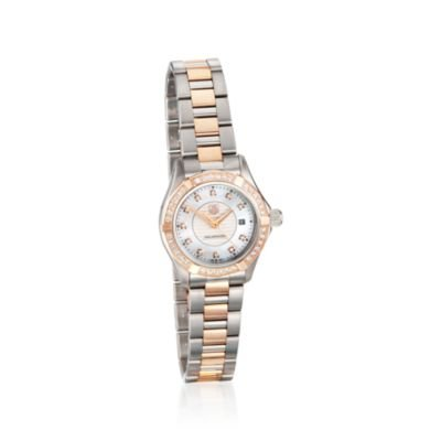 TAG Heuer Women's Aquaracer Diamond Accented Quartz Watch