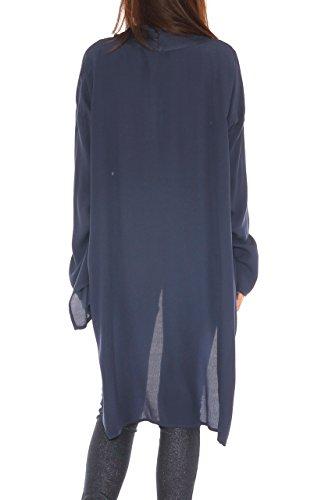 Blouson Foncé Key Femme Bleu di 6Sqx505wz