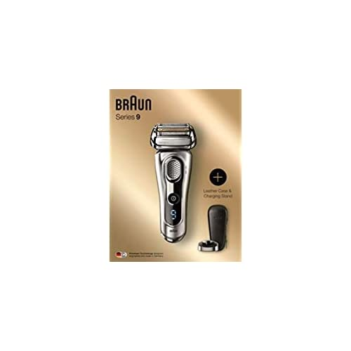 Image of Braun Series 9 9260PS SyncroSonic Men's Shaver Kit With Leather Case Health and Household