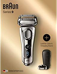 Braun Series 9 9260PS SyncroSonic Men's Shaver Kit With Leather Case