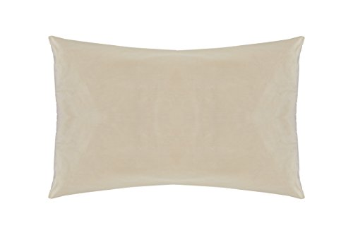 Sleep & Beyond Washable 100% Natural Wool Pillow (Standard, Queen, King) - with Natural Cotton Cover