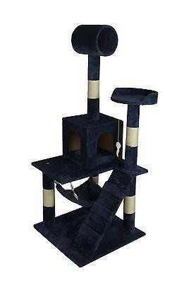 "BestPet Navy Blue 57"" Cat Tree Tower Condo Scratcher Furnitu"