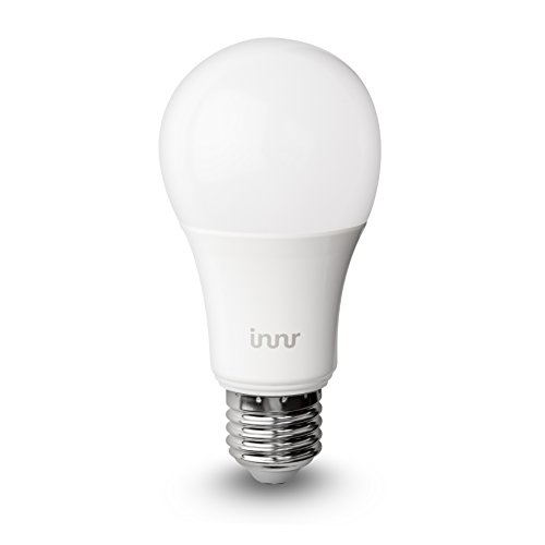 innr e27 smart rgbw led bulb colour dimmable compatible with hue echo plus alexa rb 185c. Black Bedroom Furniture Sets. Home Design Ideas