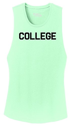 Ladies Festival Tank Top College Funny Animal House University Shirt Mint S (House Tank)