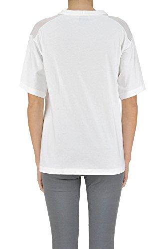 Alysi T-Shirt Donna MCGLTPS03062E Cotone Bianco