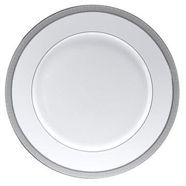 Mikasa Platinum Crown Round Serving Platter, 12-Inch