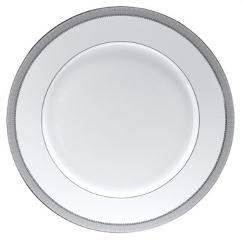 Mikasa Platinum Crown Round Serving Platter, 12-Inch