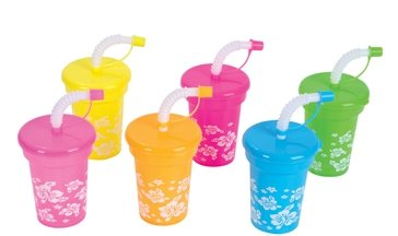 12-Luau-sipper-cups-with-straws-plastic-reusable-party-cups