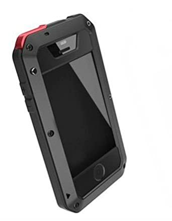 quality design 5ee22 1113e LUNATIK TAKTIK EXTREME IPHONE 4/4S CASE (BLACK AND RED): Amazon.co ...
