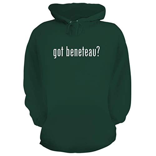 (BH Cool Designs got Beneteau? - Graphic Hoodie Sweatshirt, Forest, Large)