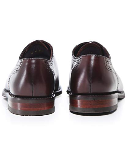 Loake Oxford Cuir Chaussures Brun Flotte Foncé Brun en Foncé Hommes Prg1cFwxqP