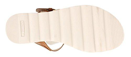 Pikolinos Brown Dark Peau Marron Sandale Cw1P5gxq