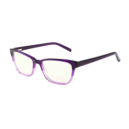 Anti Blue Light Glasses, Acetate Frame Anti Harmful Blue Ray Eyestrain Relieving - Anti Glasses Blue Light