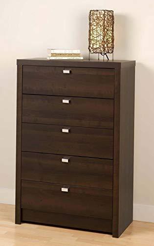 Hebel Series 9 Designer Bedroom 5 Drawer Dresser Chest - New | Model DRSSR - 433 ()