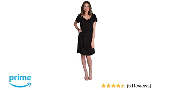 d4ef2bb9b72c8 Chic Cowl Soft Drape Nursing and Pumping Dress - Stylish, Simple and  Discreet. Udderly Hot Mama ...