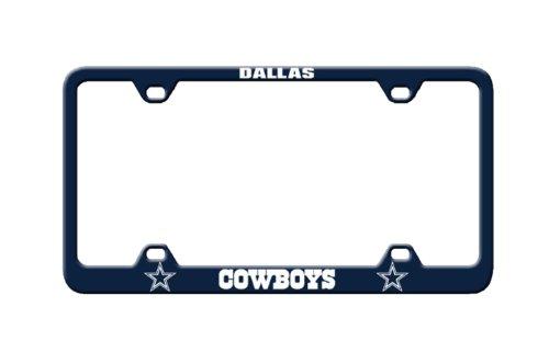 NFL Dallas Cowboys Laser License Plate Frame - Dallas Cowboys Laser License Plate