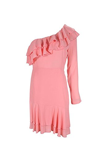 Denny Kleid Rose One Shoulder Damen Rosa rosa vfvqdBrwIn