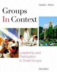Groups in Context by McGraw-Hill Humanities/Social Sciences/Languages