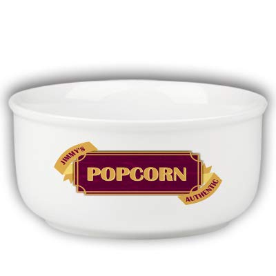 Personalized Family Name Old Fashioned Popcorn Bowl -