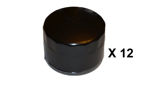 Pack of 12 Oil Filters for Briggs & Stratton 492932,492932S,695396,696854 (Craftsman Lawn Mower Model 917 Oil Type)