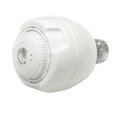 AM Conservation Group 1.5 gpm Vandal Proof Commercial Shower Head well-wreapped