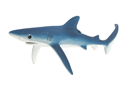 Safari Ltd Monterey Bay Aquarium Sea Life - Blue Shark - Realistic Hand Painted Toy Figurine Model - Quality Construction from Safe and BPA Free Materials - For Ages 3 and Up]()