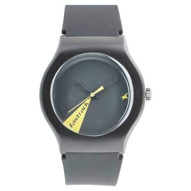 f9c15fd84 Image Unavailable. Image not available for. Colour  Fastrack The Minimalists  Quartz Movement Analogue Black Dial Men s Watch